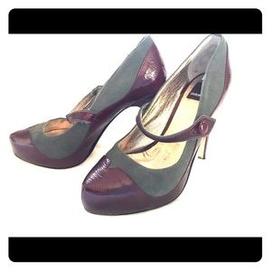 NEW Dolce Vita Suede and Patent Leather size 6